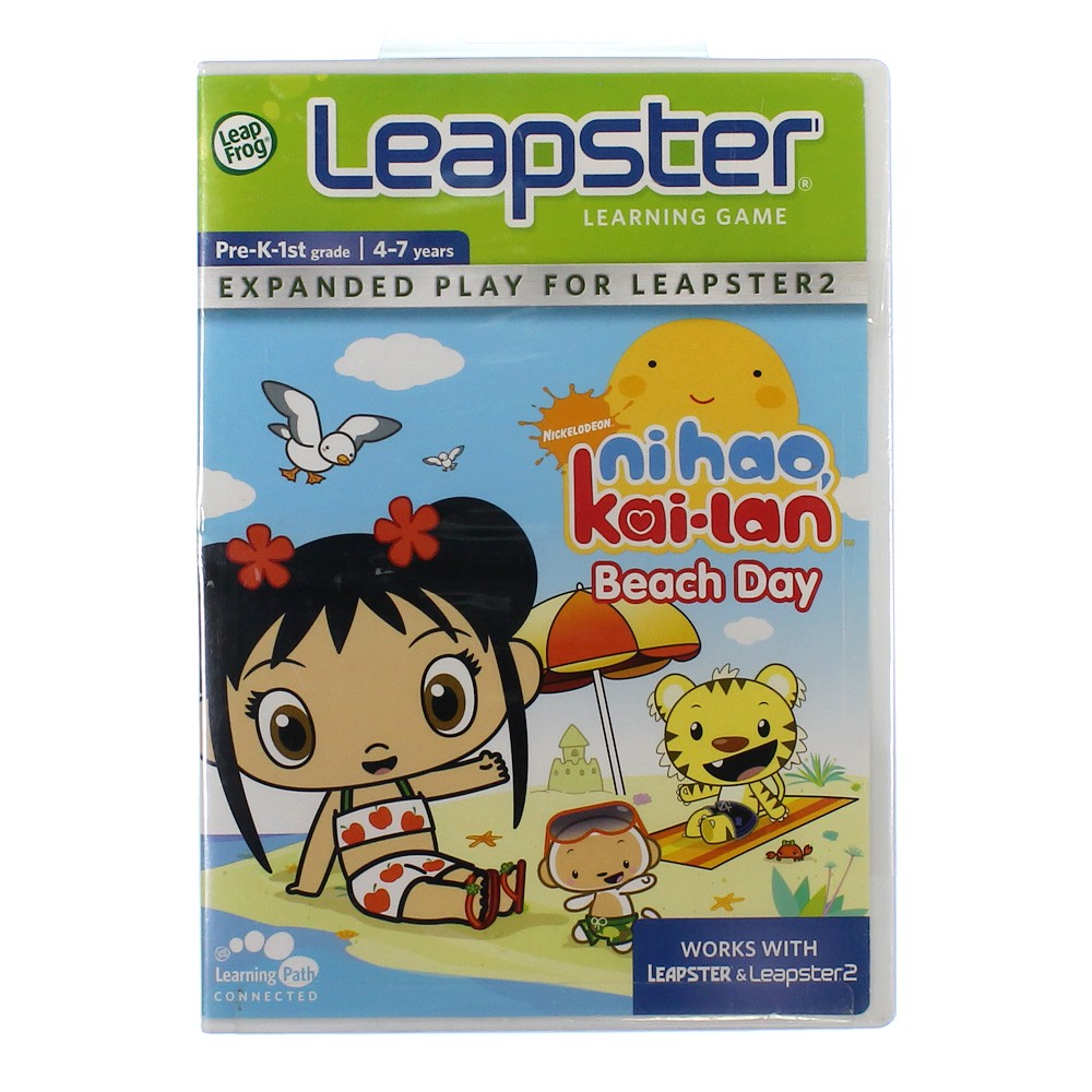 LeapFrog Leapster Learning Game: Ni Hao, Kai-lan Beach Day