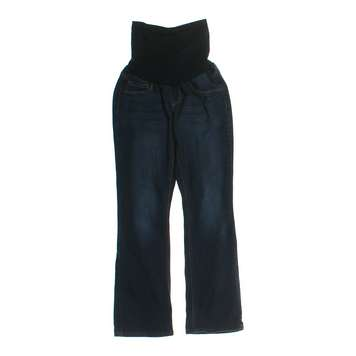 Blue Navy Indigo Blue Maternity Jeans Size M At Up To 95 Off Swap Com